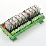 ชุด Omron relay module 24V 10A จำนวน 10 ช่อง