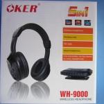 วิธีตั้งค่า หูฟัง ไร้สาย oker WH-9000