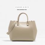 กระเป๋าถือ CHARLES & KEITH CITY BAG CK2-30270010 ชนชอป สิงคโปร์ ใหม่ พร้อมส่ง ที่ไทย