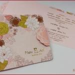 การ์ดแต่งงาน VIP-SCT สามพับ (6-0091)