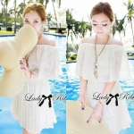 DS-PP-037 Lady Yibsie Pure Sweet White Lace Set