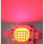 หลอด LED 10W Red Hi-Power 12V