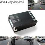 กล่องควบคุมกล้องติดรถยนต์รอบคัน 360 องศา