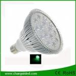 ไฟ LED E27 PAR38 Aluminium 15w แสงเขียว