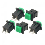 Push Button Switch Green Square
