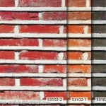 53102-2 วอลเปเปอร์ติดผนัง ลายอิฐ ลายหิน อัลบั้ม สายไหม