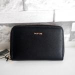 กระเป๋าสตางค์ Parfois Wallet ใบสั้น ซิปรอบ หนัง Saffiano ใหม่ แท้ จากชอปยุโรป 2017