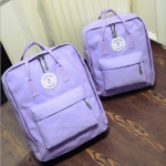 Feminine Classic Mini Backpack (Pastel Purple)