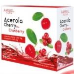 Amsel Acerola Cherry Plus Cranberry 15 ซอง