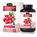 Auswelllife Cranberry Hight Strength 50000mg. ออสเวลไลฟ์ แครนเบอร์รี่ 60 เม็ด