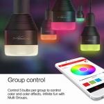 MIPOW Smart LED RGB Light Bulbs หลอดไฟเปลี่ยนสีผ่านมือถือ