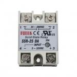 โซลิดสเตตรีเลย์ Solid state relay 25A SSR -25DA