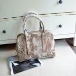 กระเป๋าถือ ALDO HANDBAG WITH LEATHER DETAIL ลายงู สุด chic พร้อมส่ง ที่ไทย