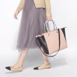 กระเป๋า H&M Tote Bag หนัง สะพายไหล่ ยี่ห้อ H&M แท้ ชนชอปไทย