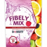 Donutt fibely mix โดนัทท์ ไฟบีลี่ มิกซ์ 10 ซอง