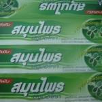 65-101-2100-1 ยาสีฟันสูตรโบราณ 100 ก./หลอด-ปฐมฯ(เขียว) / โหล