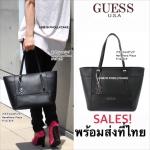 กระเป๋า Guess Tote Bag vy453522 สะพายไหล่ หนัง Saffiano ใบใหญ่ พร้อมส่ง ที่ไทย