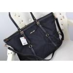 กระเป๋า MANGO Nylon Tote Bag กระเป๋าทรงเท่ห์ สีดำ คล้าย PRADA วัสดุทำด้วยผ้าร่ม