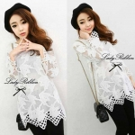 DR-LR-005 Lady Lynne Lace Mini dress