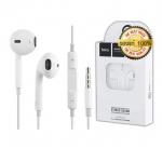 hoco m1หูฟัง ของแท้100% หูฟังสำหรับ หูฟังiphone หูฟังไอโฟน หูฟัง สมอลทอร์ค(สีขาว) (รหัสสินค้า 2hVlf61)