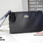 กระเป๋าคล้องมือ Lacoste Wristlet Purse ของแท้ สีสดใส พร้อมส่งที่ไทย กระเป๋าสตางค์