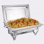 FOFO Chafing dish ชุด ถาดบุฟเฟ่ต์ / ถาดอุ่นอาหาร สเตนเลส 1ช่อง (1 ชุด) (รหัสสินค้า 2AeuNmY)