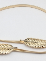 เข็มขัดสีทอง
