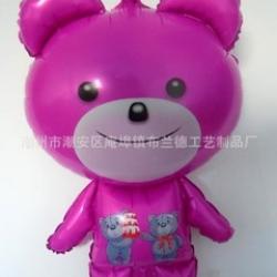 ลูกโป่งหมีสีชมพู