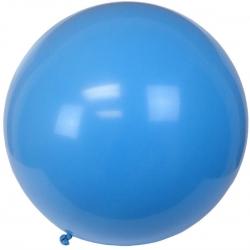 ลูกโป่งจัมโบ้-สีน้ำเงิน-ขนาด-36-นิ้ว-round-jumbo-balloon