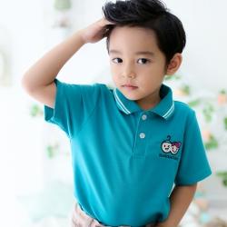 เสื้อโปโลเด็ก สีเขียว