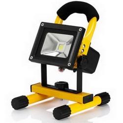 โคมไฟเอนกประสงค์ Floodlight rechargeable 10w