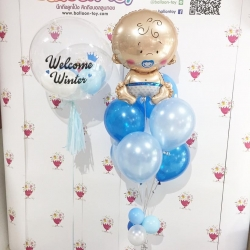 ลูกโป่งแรกเกิด New Born BN 135