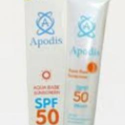 ครีมกันแดดอโปดิสส์ ผสมสารสกัดออร์แกนิค Apodis Sunscreen