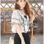 Lady Vanessa Vintage Scallop Lace Blouse L269-6514 thumbnail 11