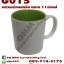 แก้วสำหรับพิมพ์สกรีน ทรานเฟอร์ แก้ว sublimation แก้วทรงกระบอก ด้านในมีหลายสี thumbnail 4