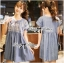 Lady Sweet Effortless Embroidered Denim Dress L152-65C03 thumbnail 2
