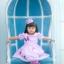 Butterfly Princess Dress ชุดเดรสเด็กสีม่วง thumbnail 5