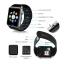 ATM กล้องนาฬิกาบูลทูธ ใส่ซิมได้ Bluetooth Smart Watch SIM Card Camera รุ่น G08 (สีดำ) ฟรี แบตเตอรี่สำหรับ Smart Watch สำรองก้อนที่ 2 (รหัสสินค้า2itN5X6) thumbnail 3
