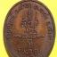 พระครูบุญญาภินันท์ (หลวงหรีด) วัดป่าโมกข์ พังงา รุ่นบุญสูง ปี ๒๕๔๖ เหรียญรูปไข่ เนื้อทองแดง thumbnail 2