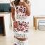 Dress ผ้าคอตตอน งานปักลายดอกกุหลาบ thumbnail 2