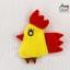 Chicken Dress ชุดเดรสเด็กสีครีม thumbnail 7