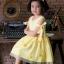 Star Princess Dress ชุดเดรสเด็กสีเหลือง thumbnail 4