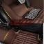 พรมปูพื้นรถยนต์ 5D เข้ารูป Honda BRV สีน้ำตาล thumbnail 11