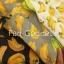 เดรสผ้าแคนวาสลายกล้วยสีเหลือง คอกลม แขนสั้น thumbnail 4