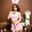 SL-I1-216 ชุดกระต่าย Bunny สีชมพูหวาน thumbnail 4