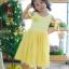 Star Princess Dress ชุดเดรสเด็กสีเหลือง thumbnail 7