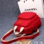 กระเป๋าผ้าแคนวาสสีแดงแต่งตัวห้อยรูปม้า งานน่ารักสไตล์แบรนด์ LAGAFFE thumbnail 2
