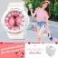 Poca Watch S SPORT นาฬิกาข้อมือ ดิจิตอล สายยาง ผู้หญิง เท่ๆ กันน้ำได้- Po LadySw-GP92WP (White/Pink) (รหัส 2iG9tvX) thumbnail 1