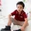 เสื้อโปโลเด็ก สีแดง thumbnail 2