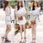 Lady Jennifer Sweet Button Down Organza Lace Dress L182-69C03 thumbnail 3